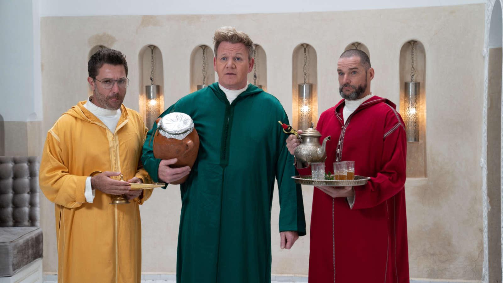 Gordon, Gino and Fred: The Three Unwise Men