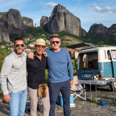 Gordon, Gino and Fred: Roadtrip